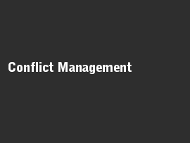 Online quiz Conflict Management