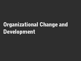 Online quiz Organizational Change and Development