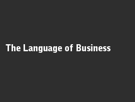 Online quiz The Language of Business