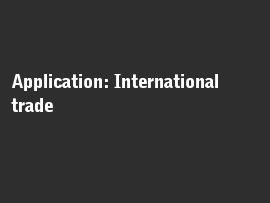 Online quiz Application: International trade