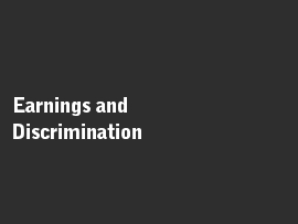 Online quiz Earnings and Discrimination