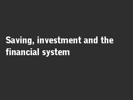 Online quiz Saving, investment and the financial system