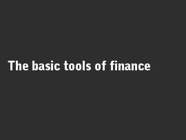Online quiz The basic tools of finance