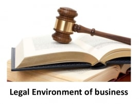 Online quiz The Legal Environment