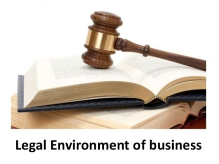 The Legal Environment