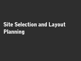 Online quiz Site Selection and Layout Planning