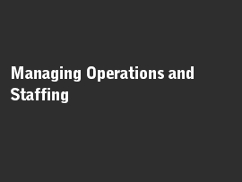 Online quiz Managing Operations and Staffing