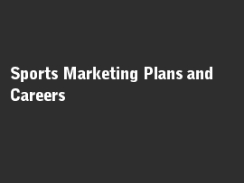 Online quiz Sports Marketing Plans and Careers